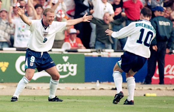 SAS - Sheringham and Shearer at Euro 96