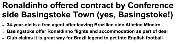 The Mail: yes, Basingstoke