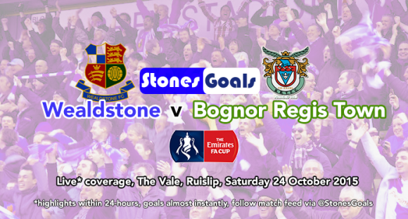 Big match: Stones v Bognor