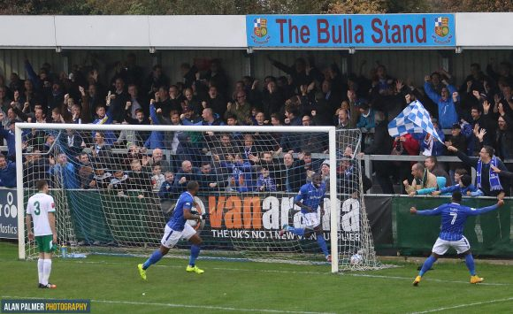 Hudson-Odoi sets Stones on way to sixth consecutive victory in 2-1 win over Bognor last Saturday
